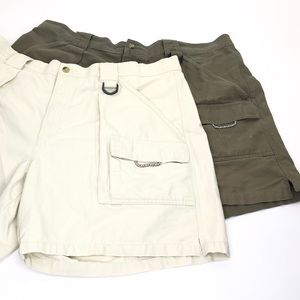 Lot of 2 Columbia PFG Cargo / Fishing Shorts
